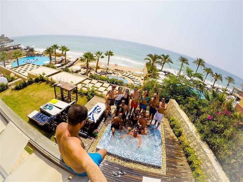 Happy Birthday @georgiodaher 🎂🍾🍾 (Rai Beach Resort)