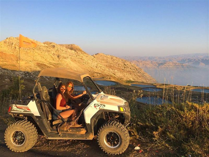 That's a sunset view !  polarislebanon  rzr  atv  adventure ...