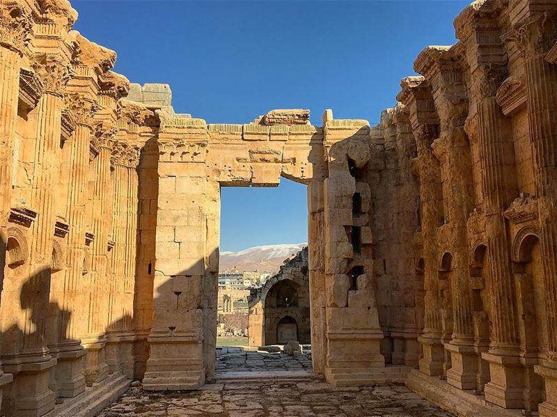 lebanon nature throwback instagood wanderlust travelgram ... (Baalbek , Roman Temple , Lebanon)