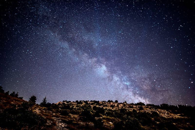 An attempt to shoot the milky way nightphotography photography ... (Cedars Ground Campsite)