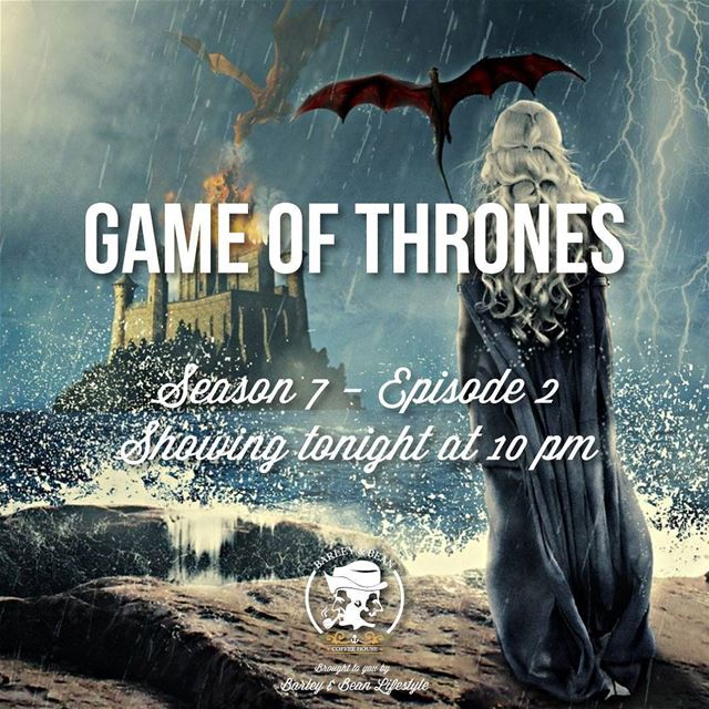 Game of Thrones Season 7 - Episode 2 on tonight at 10pm. Big screen, Big...