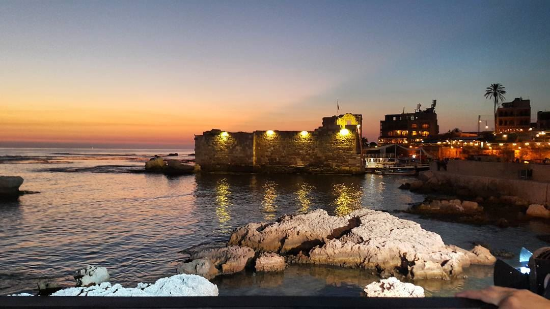 Always somewhere. . . Miss you where I've been! byblos castle by ... (Byblos, Lebanon)