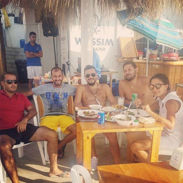 1 @wassim.3alba7er @anfehalkoura @slaimennemer seafoodrestaurant ... (Ta7t El Ri7 - Anfeh)
