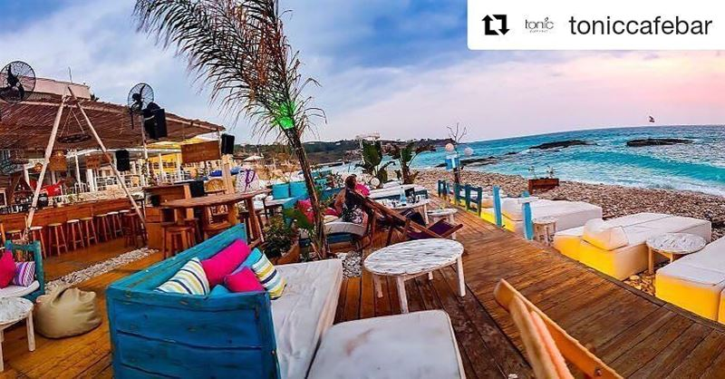 Tonic Batroun a chill and relaxing place , pass by and tell us what you...
