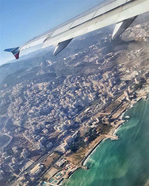 🇱🇧📍 beirut from the top lebanon theview viewfromabove travel ... (Beirut–Rafic Hariri International Airport)