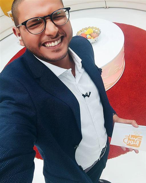 التلفزيون_العربي صباح_النور First Episod Selfie picoftheday ... (50 Frames Studios)