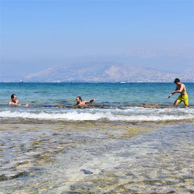 Survival mode 🌊🏝••••••••••••••••••••• rabbitisland sea Lebanon ... (Rabbits Island- El Mina.)