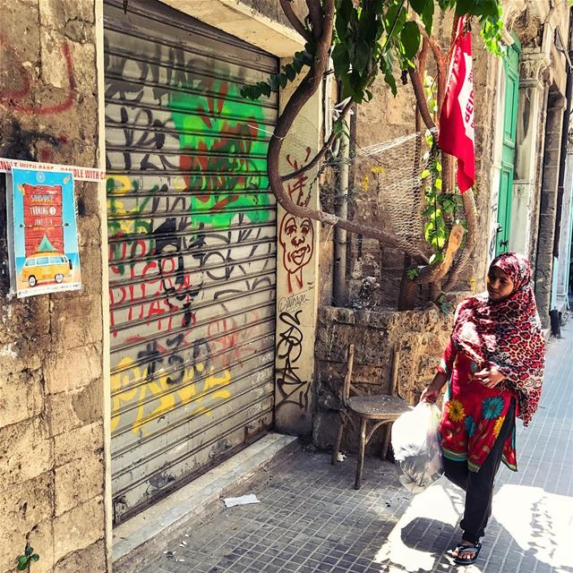 """I'm only wearing happy colors"" she says, 🤡 lebanonbyalocal ... (Beirut, Lebanon)"