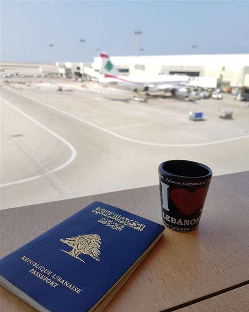 I ❤️lebanon. lebanon airport travel passport cupcoffee customize airplane... (Beirut–Rafic Hariri International Airport)