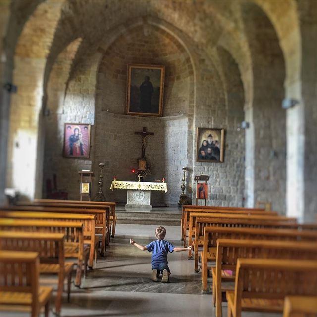 Faith Humbleness LiveLoveLebanon wearelebanon lebanonbyalocal ... (Mar Musa, Mont-Liban, Lebanon)