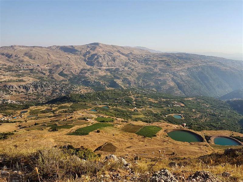 The valley of... (Qanat Bakish, Mont-Liban, Lebanon)