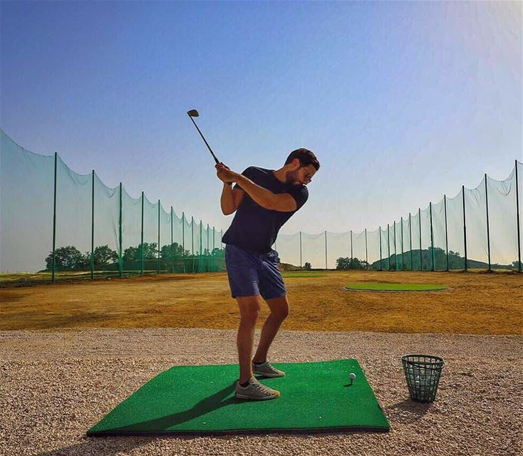 Golf? Lebanon? Altitude of 1700m? View to Mount Lebanon and the Sea? Well,... (AHLAM Golf & Mountain Village)