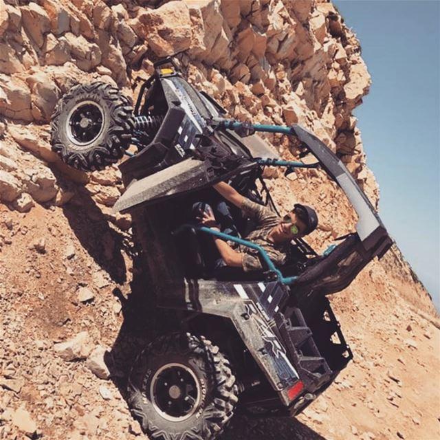 Climbing in RZR 800 S Stealth Black ! @ghalebgeorge polarislebanon rzr ...