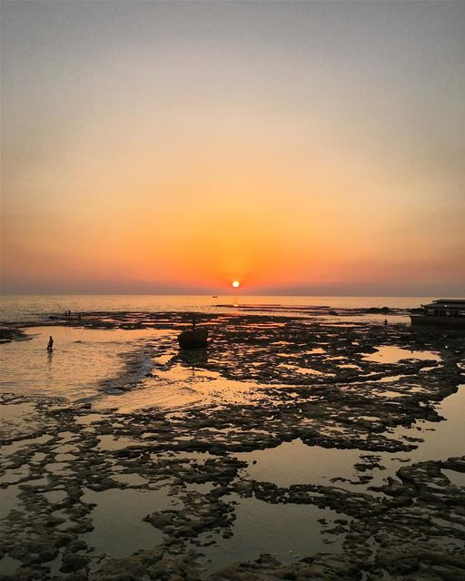 About the last sunset 🌅 ... (Byblos, Lebanon)