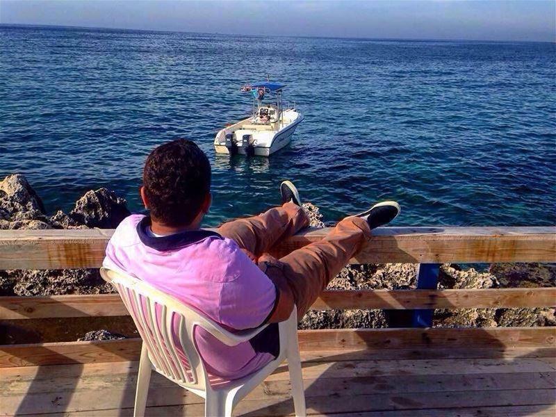 Meet me where the sky touches the sea 🙌🏻 ... (Anfeh, Lebanon)