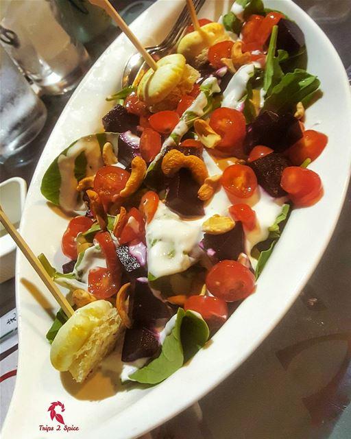 Broumania salad, A MUST😍-------------------------------📍 @broumania--- (Broumania)