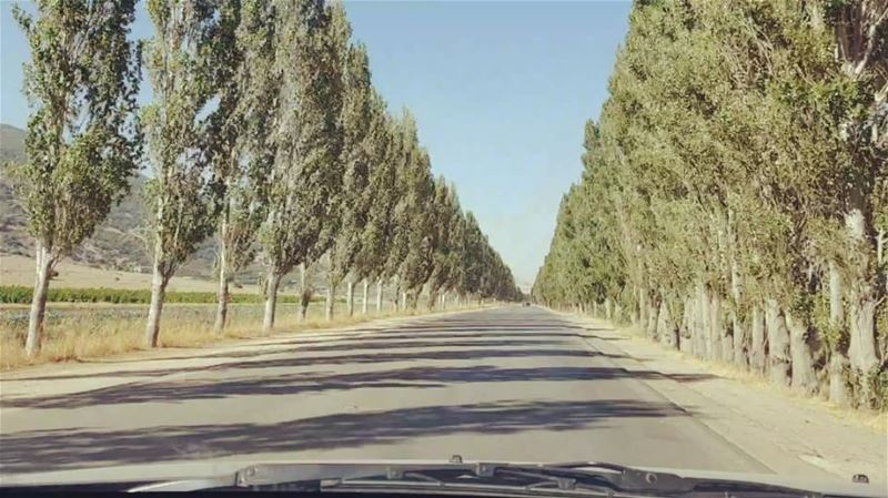 Today's Roadtrip ... roadtrip filming roads work lebanon bekaa ... (West Bekaa)