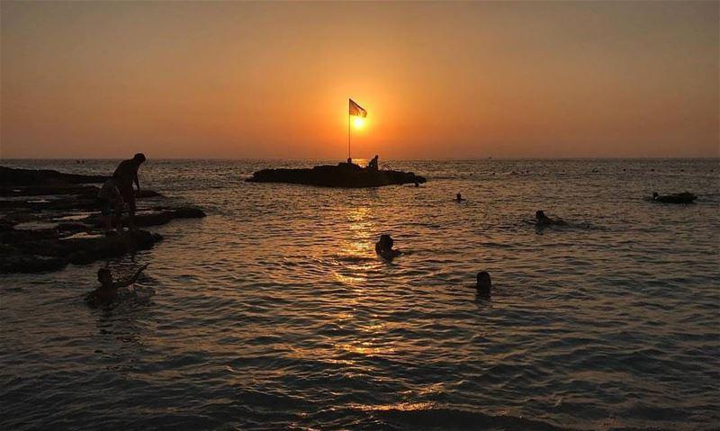 @jocelyne_arzou @whitebeachlebanon sunset batrounviews mybatroun ...