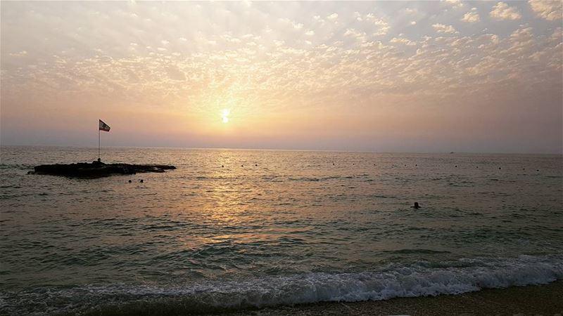 LebanonFirst Sunset lebaneseflag 10452 ... (El Berbâra, Mont-Liban, Lebanon)