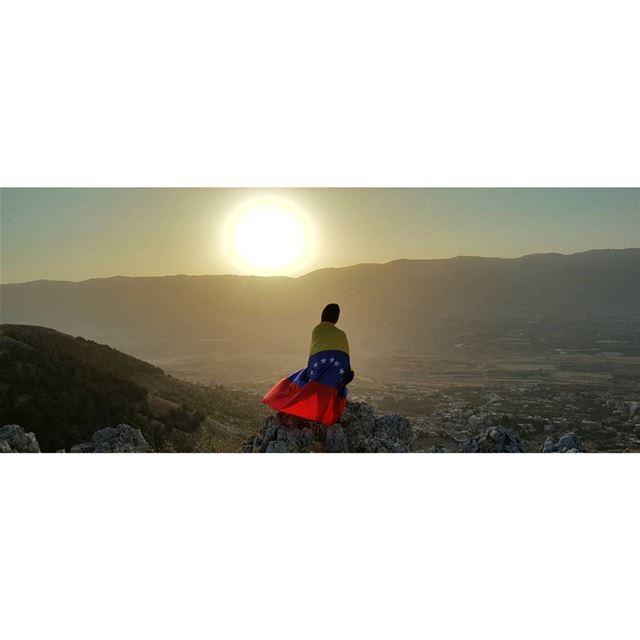 Venezuela in my heart! 🇻🇪 (Baaloûl, Béqaa, Lebanon)