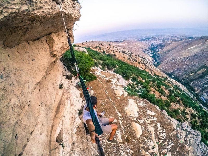 Hang In There 🐒 (Zahlé, Lebanon)