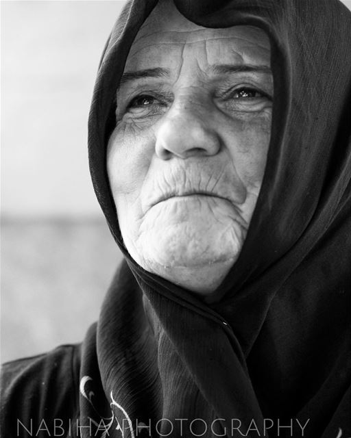 Portrait Time southern_woman beirut photography blue Lebanon canon7d...
