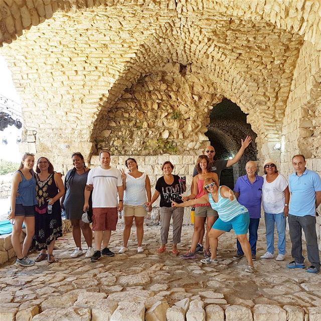 Fridays discoveries in South Lebanon. Stop at tebnin crusaders castle ... (Tibnin)