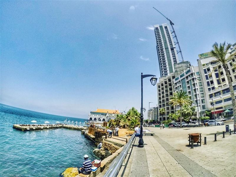 Beirut 🇱🇧☀️....... Lebanon beirut livelovelebanon lebanon_hdr... (Beirut, Lebanon)