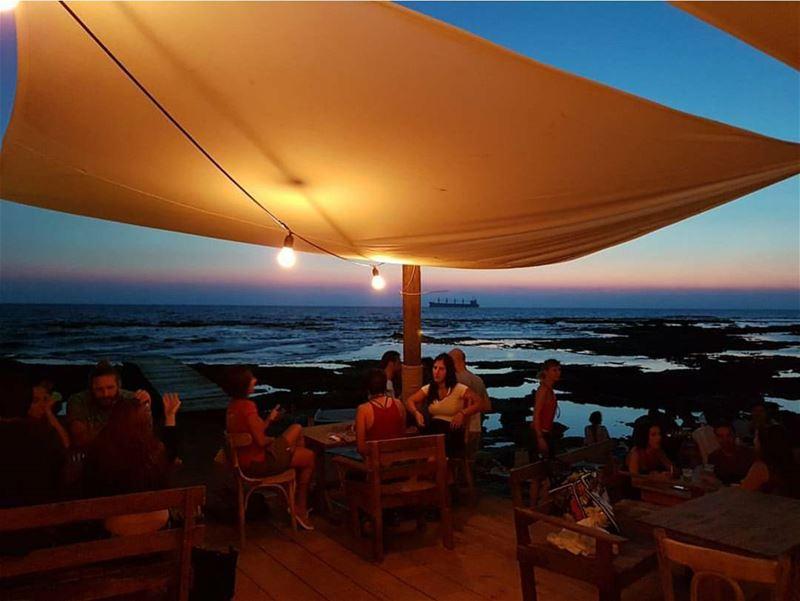 batroun @colonelbeer sunset bebatouni lebanon northlebanon ... (Colonel Beer Brewery)