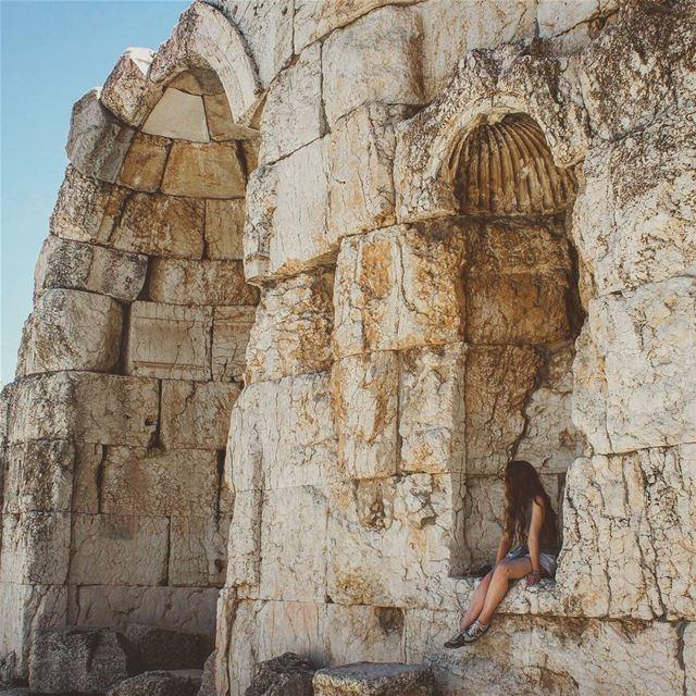 Baalbeck Igloo ! ❄🌞Have you ever seen a summer igloo ? It's in the city... (Baalbeck, Béqaa, Lebanon)