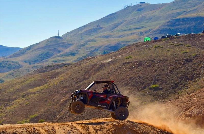 The view is always better from top @karimjarmakani polarislebanon  rzr ...