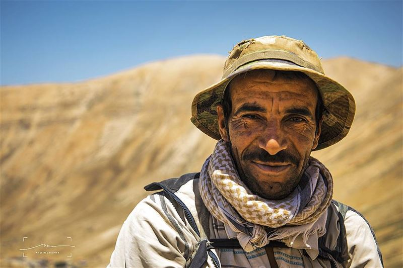 Meet ALI,  the shepered on top of the lebanese mountains with a face that... (Bchare Arez El Rab)