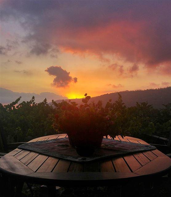 Just watching Sunset .. Tfadalo 😎 lebanon nature naturelovers ... (Hammana)