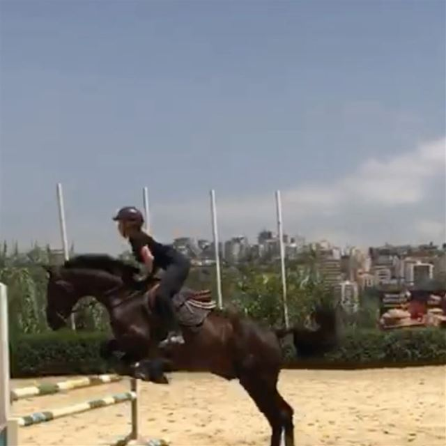 Back to what i L🐴VE horseriding love nature lebanon jumpinghorse ... (Dbayeh Country Club)