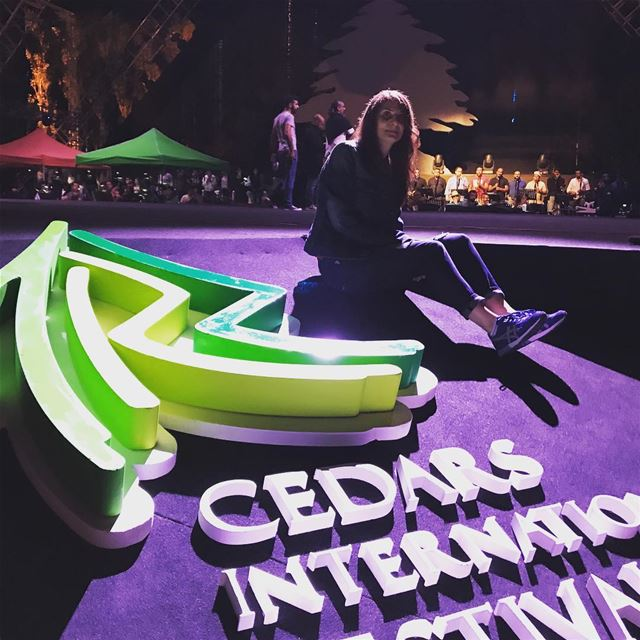 Ready for tonight!!! cedars International Festival cedars cedarsofgod ... (Cedars Festival)