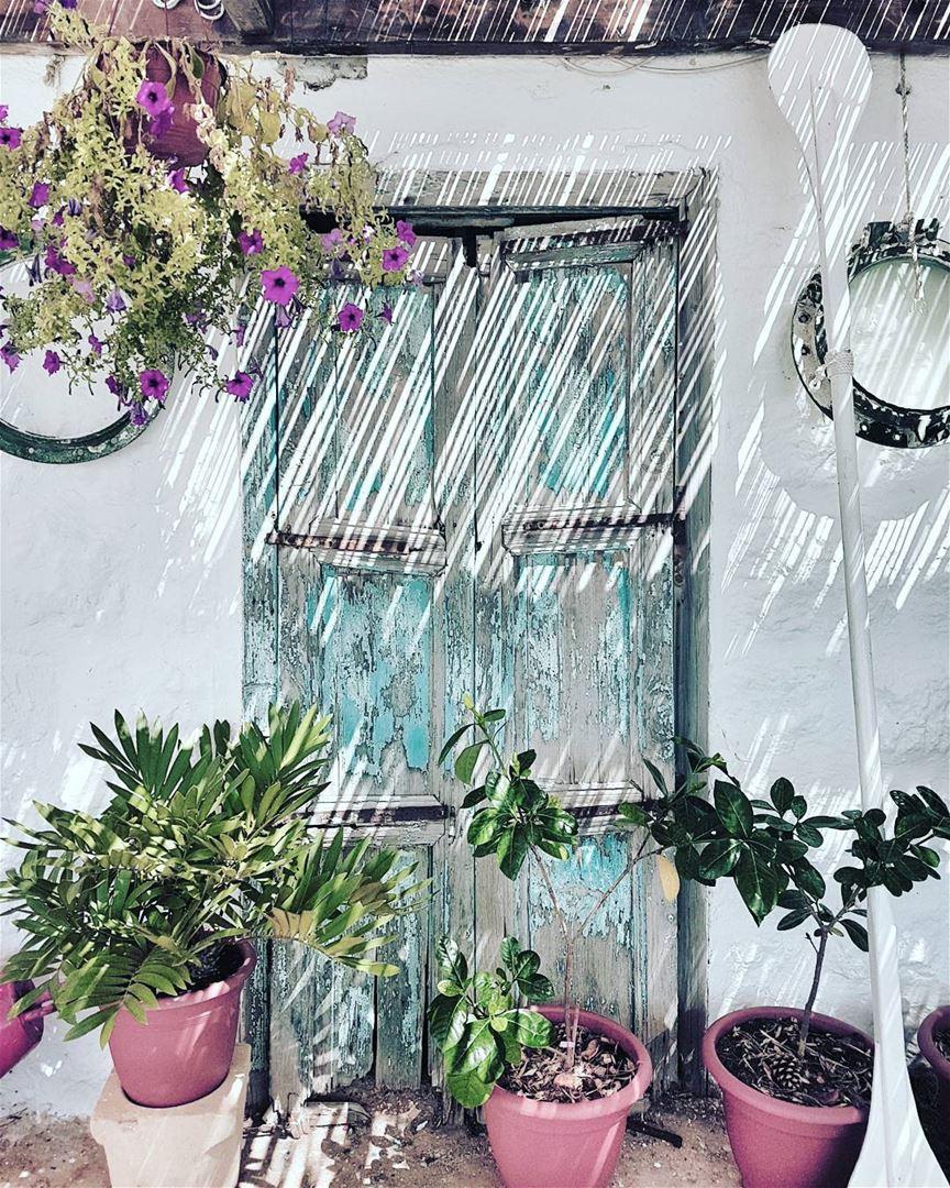 Doors and Shadows 💙_________________________________________________... (Batroun District)