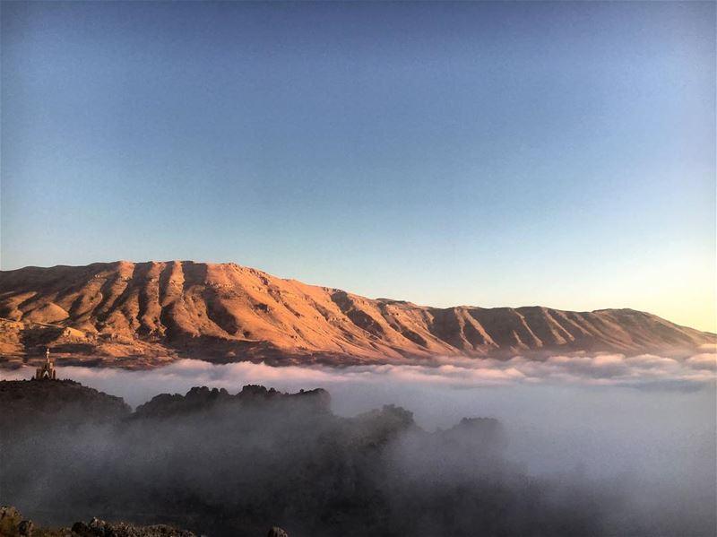 Above The Clouds ⛰ lebanon lebanon_hdr lebanon_hd peak cedars ... (Cedars of God)