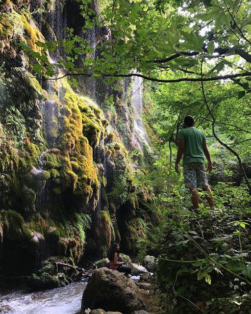 Annoubin is full of surprises..... waterfall wanderlust ... (Hasroun)