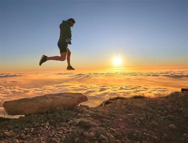 Rise above lebanon ...... Courtesy: @chriskabalan hyperbeast ... (Mzaar 2400m)