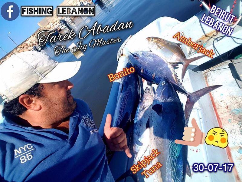 """Tarek Abadan """"The Jig Master"""" fishinglebanon tripolilb beirut byblos ... (Beirut, Lebanon)"""