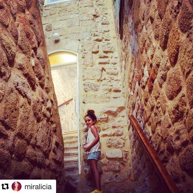 Repost @miraliciaToday Alicia explored the beautiful maze of saida 's...