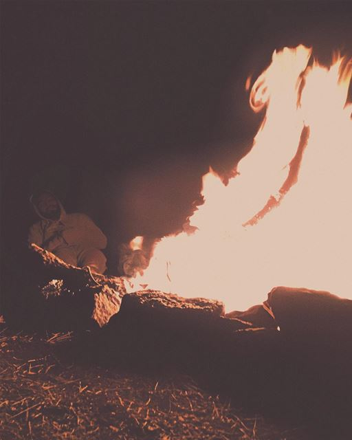 'what happens around the campfire; stays at the campfire...''''... (Baskinta, Lebanon)