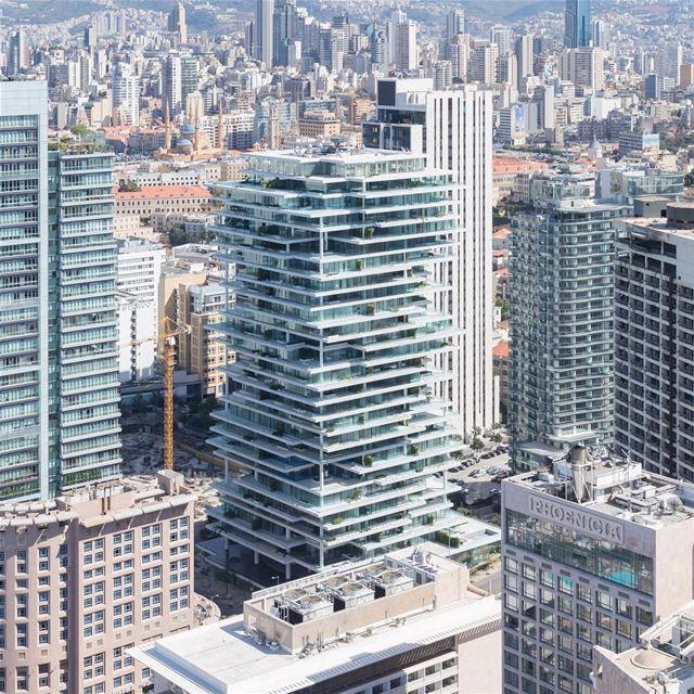 🇱🇧 Beirute é uma cidade moderna e com um passado de prestígio. Construçõe (Downtown Beirut)