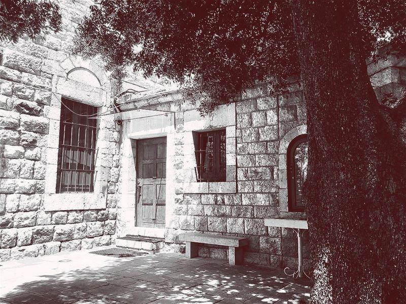 The eye should learn to listen before it looks 🎞 Blackandwhite ... (Falougha, Mont-Liban, Lebanon)