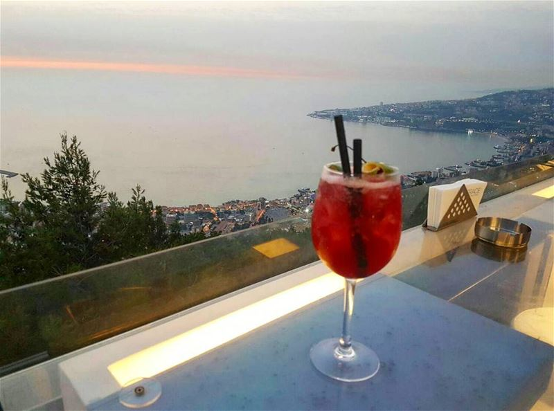 BerryLicious afternoons AtTheTop! 😍🍹@theterrace_lebanon ... (The Terrace - Restaurant & Bar Lounge)