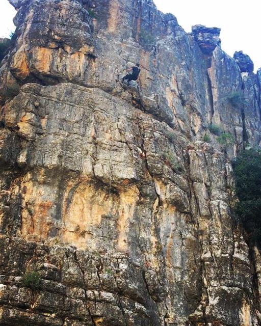 about yesterday adventures skylineextremesports adventurethatislife... (Majdal Tarshish, Mont-Liban, Lebanon)