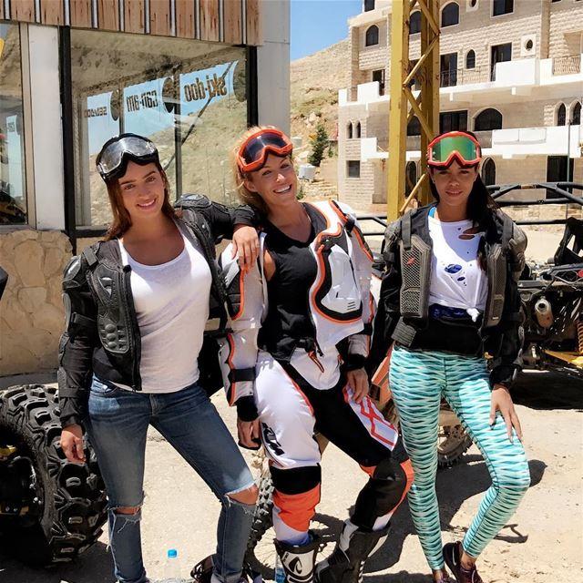 Amazing day with beautiful people 🏍🚜Love you girlsss 💕🌟🌟@rawshinebys (Faraya, Mont-Liban, Lebanon)