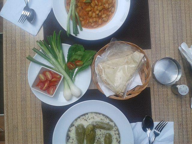 Today's Menu: Kousa B Laban and Fasoulia (Aysha Khanom) B Zeit. Em's... (Em's cuisine)