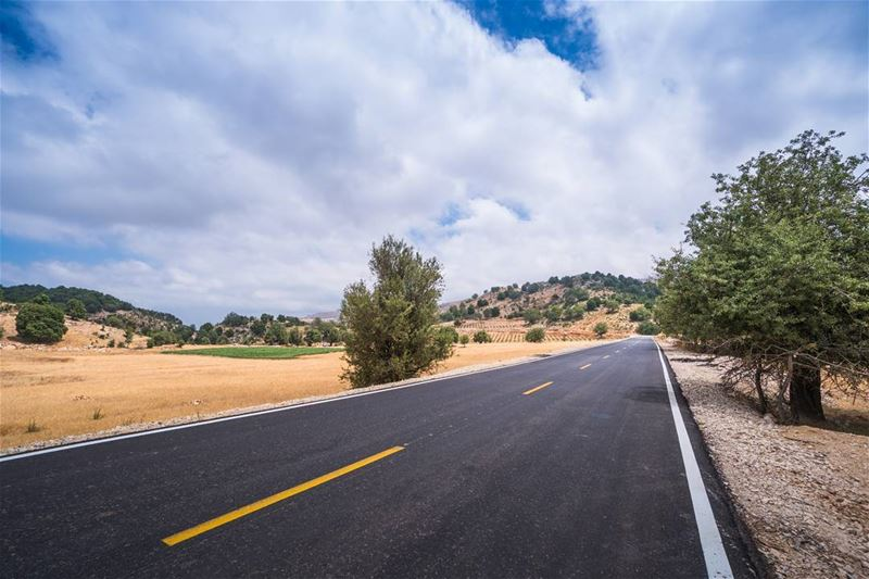 The road to Miziara lebanon vsco ... (Miziâra, Liban-Nord, Lebanon)