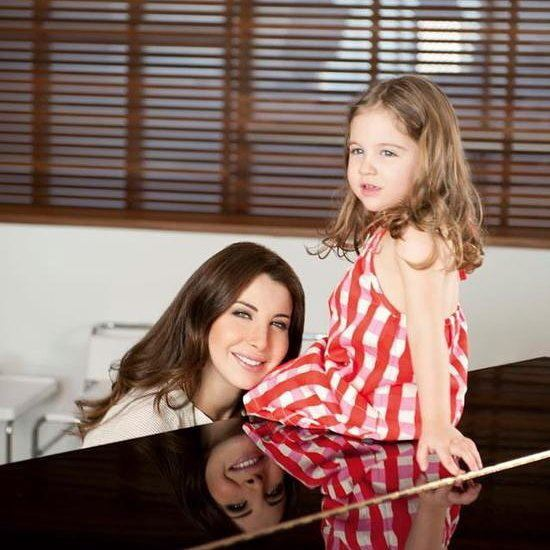Mom Nancy and Daughter Mila 💕 nancy9  hassabeek  jordan singer  lebanon...